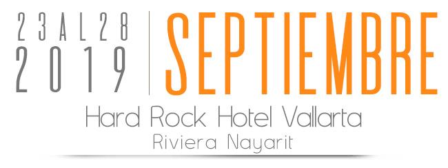23 al 28 de Septiembre, Hotel Hard Rock Hotel Nuevo Vallarta Riviera Nayarit
