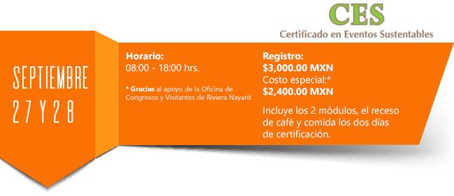 CES Certificado en Eventos Sustentables